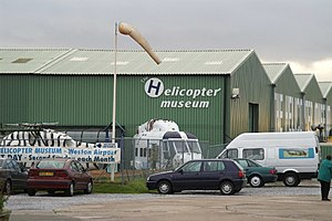 The Helicopter Museum (Weston) - Image: Weston Helicopter Museum