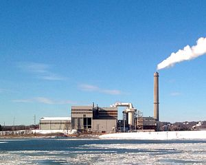 Saugus, Massachusetts - Wheelabrator Technologies' Waste-to-Energy plant in Saugus became the first commercially successful incineration plant in the U.S.