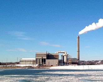 Waste Management (corporation) - Wheelabrator waste-to-energy plant in Saugus, Massachusetts