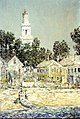 White Church, Provincetown by Childe Hassam, 1900.jpg