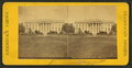 White House, South Front, Wash., D.C, from Robert N. Dennis collection of stereoscopic views.png