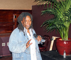 300px Whoopi Goldberg stand up for Rainforest Action Network WATCH | Mel Gibsons Celebrity Friend Point of View