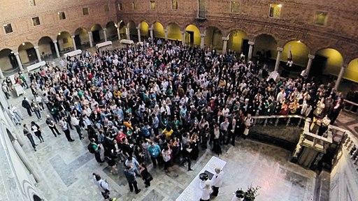 Wikimania2019-openingreception-groupshot-lowres-fuzheado