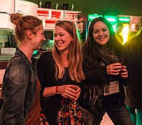 Wikimedia Conference 2015 - May 16 - Party at HomeBase Lounge - 19.jpg