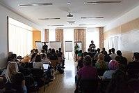 Wikimedia Hackathon Vienna 2017-05-19 Mentoring Program Introduction 009.jpg