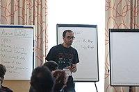Wikimedia Hackathon Vienna 2017-05-19 Mentoring Program Introduction 011.jpg