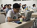 Wikimedia Taiwan 10 Anniversary Conference Helping the Open-source Course Guideline via Wikimedia and the Expansion of the Wikibooks 07.jpg