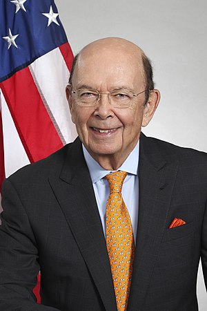 United States Secretary of Commerce - Image: Wilbur Ross Official Portrait