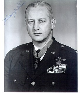 William A. Shomo United States Air Force Medal of Honor recipient