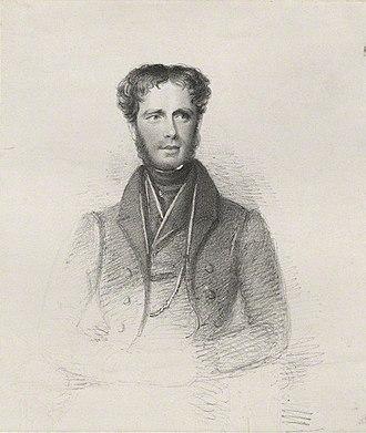 William Cholmondeley, 3rd Marquess of Cholmondeley - Lord Cholmondeley in 1832