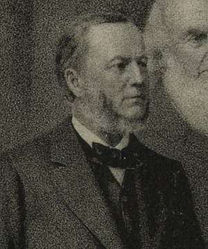 William Daniel (Maryland politician) - Daniel pictured in 1884