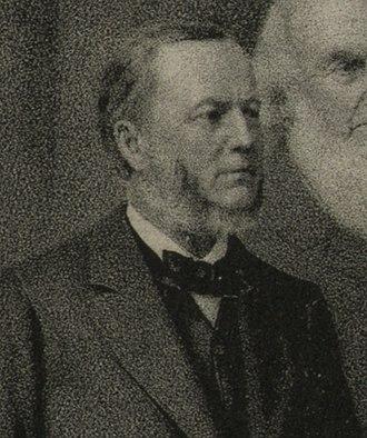 William Daniel (Maryland politician) - Daniel pictured in 1884