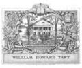 William Howard Taft bookplate.png