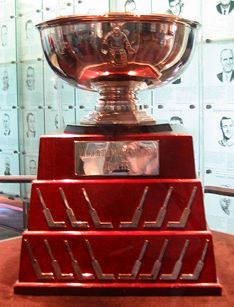 William M. Jennings Trophy - Image: William M. Jennings Trophy (Hockey Hall of Fame, Toronto)