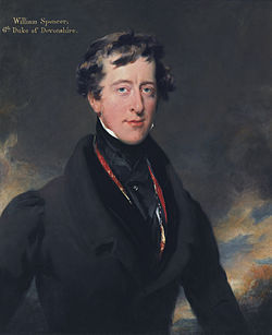 William spencer cavendish, 6th duke of devonshire, by thomas lawrence
