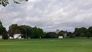 Winchester College Ground - Image: Winchester College playing fields 'Meads' geograph.org.uk 375812