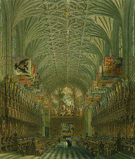 Choir of St Georges Chapel, Windsor Castle