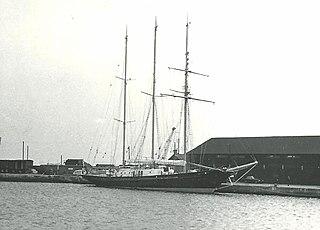 <i>Sir Winston Churchill</i> (schooner) three-masted schooner