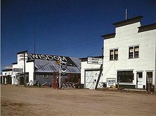 Wisdom, Montana Census-designated place in Montana, United States