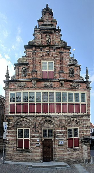 Woerden - The old stadhuis (city hall) in Woerden, now a museum