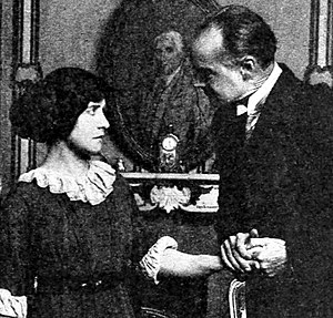 Charles Craig (actor) - Janet Salisbury and Charles Craig in The Woman in White (1912).