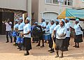 Women Group Dance for a Funeral Anniversary, Marking the end of a One Year Mourning Period - Igbo Tribe - Imo State - Nigeria.jpg