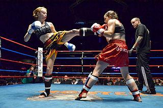 Womens kickboxing in Australia