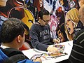 WonderCon 2012 - Humberto Ramos signing at the Marvel booth (6873033398).jpg