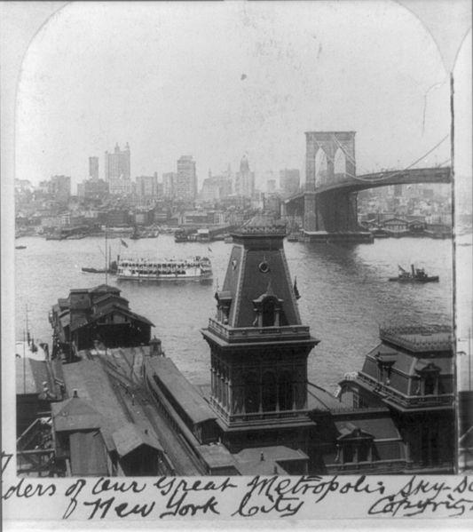 File:Wonders of our great metropolis, sky-scrapers and Great Bridge from Brooklyn, New York City 1904.jpg