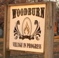 Woodburn, Illinois village sign.png
