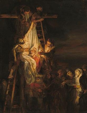 Joseph E. Widener - Image: Workshop of Rembrandt van Rijn The Descent from the Cross (National Gallery of Art)