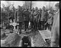 World War 1 New Zealand soldiers at the burial of Sapper J F Haynes, Romarin, France (21490316292).jpg
