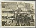 World War One; wagons for disembarkation in Malta Wellcome L0064610.jpg
