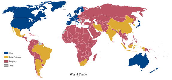 Map Of The World Without Countries.Core Countries Wikipedia