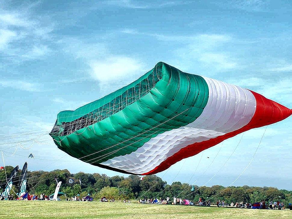 Worlds Largest Kite - Aloft - Taken in 2004