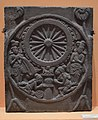 Worship of Chakra - Sandstone - ca 2nd Century BCE - Sunga Period - Bharhut - ACCN 305 - Indian Museum - Kolkata 2016-03-06 1563.JPG