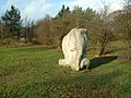 Wounded Elephant, Yorkshire Sculpture Park - geograph.org.uk - 106129.jpg