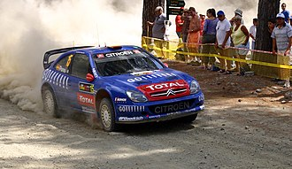 Xavier Pons - Pons at the 2006 Cyprus Rally.