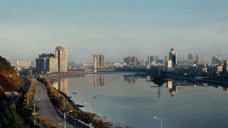 Xinyang - View of Xinyang