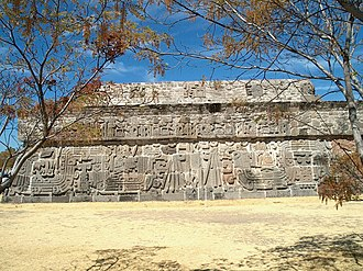 Xochicalco - Temple of the Feather Serpent