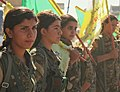 YPJ fighters with flags.jpg