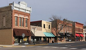 Cannon Falls, Minnesota - Buildings in downtown Cannon Falls
