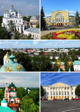 Yaroslavl UNESCO heritage collage.png