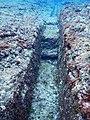 Yonaguni Monument Water Trench.jpg