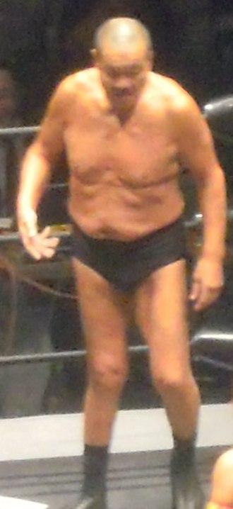 Yoshiaki Fujiwara - Fujiwara in August 2012