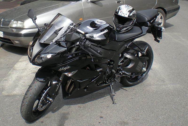 Flat Black Yamaha R