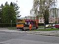 Zahradní Město. Topolová, Zvonková, rozvoz přenosných značek (02).jpg