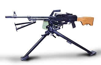 Armed Forces of Bosnia and Herzegovina - A Zastava M84 machine gun