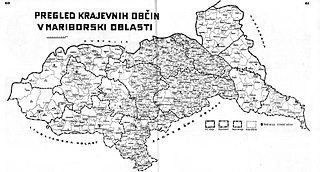 Maribor Oblast Oblast of Kingdom of Serbs, Croats and Slovenes