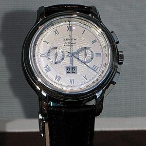 Zenith (watchmaker) - Image: Zenit img 0985